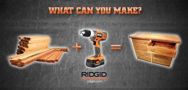Ridgid Billboard Ad 2