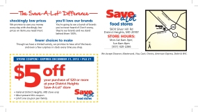 SAL Direct Mail 11x6