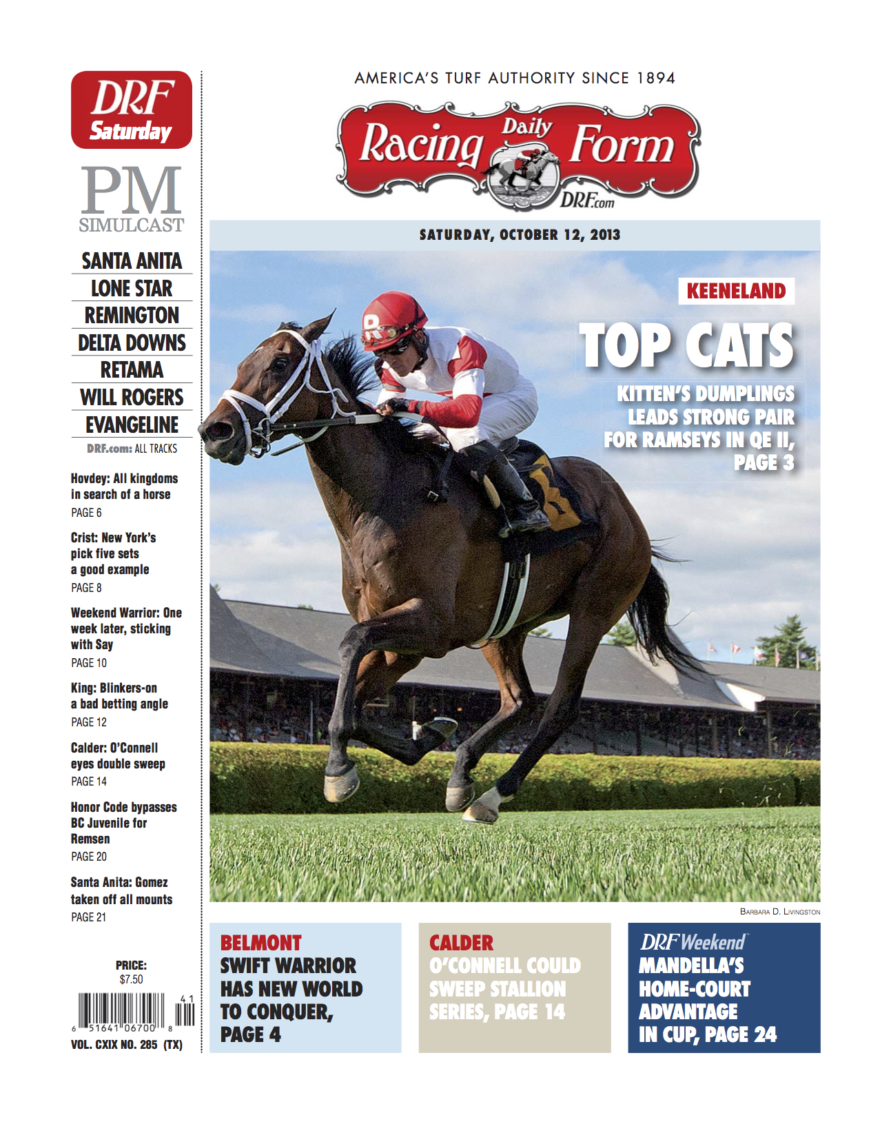 Daily Racing Form Editorial Joseph Conti
