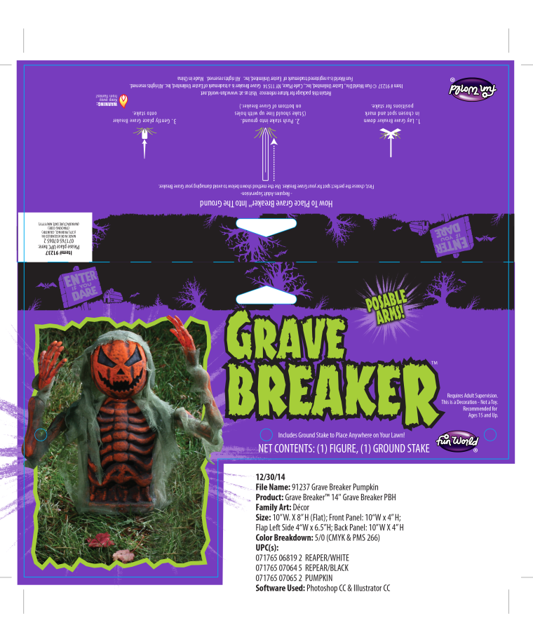 Grave Breaker Package Mechanical
