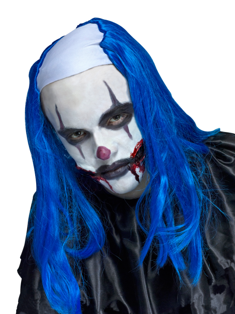 Clown Wig Photo After