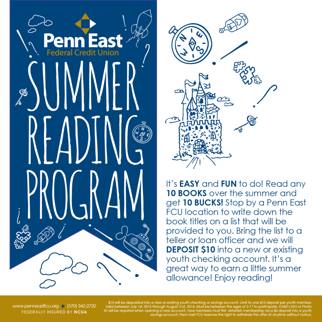 Penn East Summer Reading Facebook Post Image