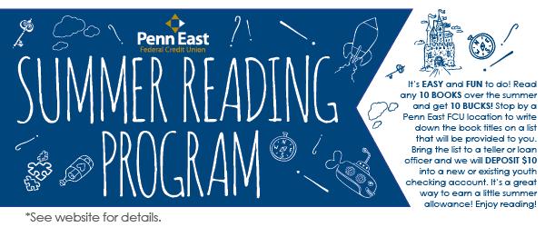 Penn East Summer Reading Mobile Web Slider
