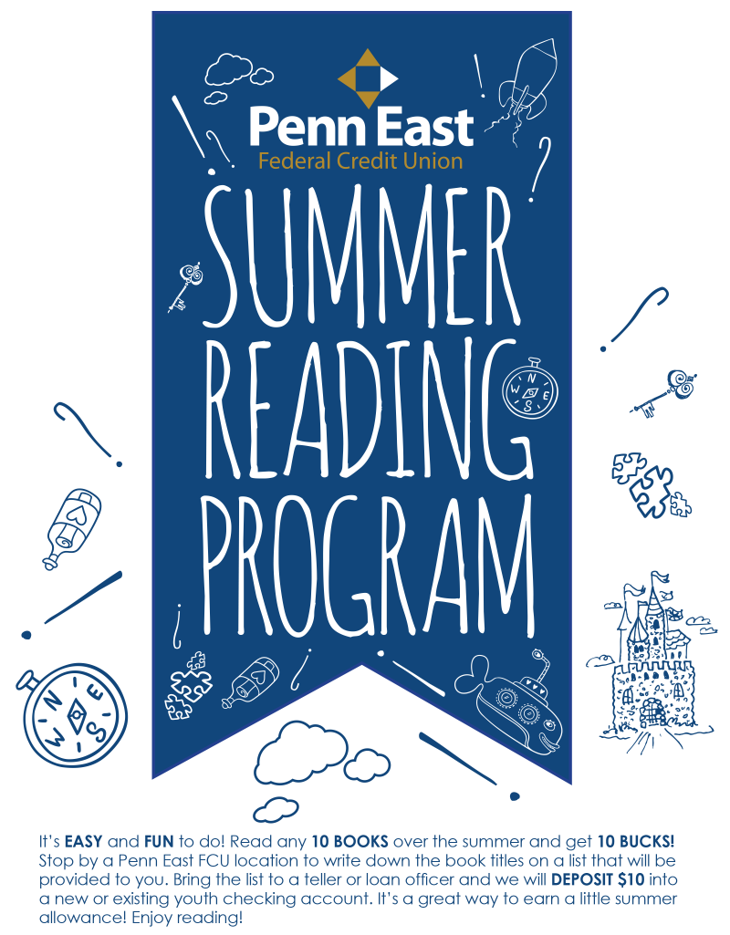 Penn East Summer Reading Program Branch Flyer