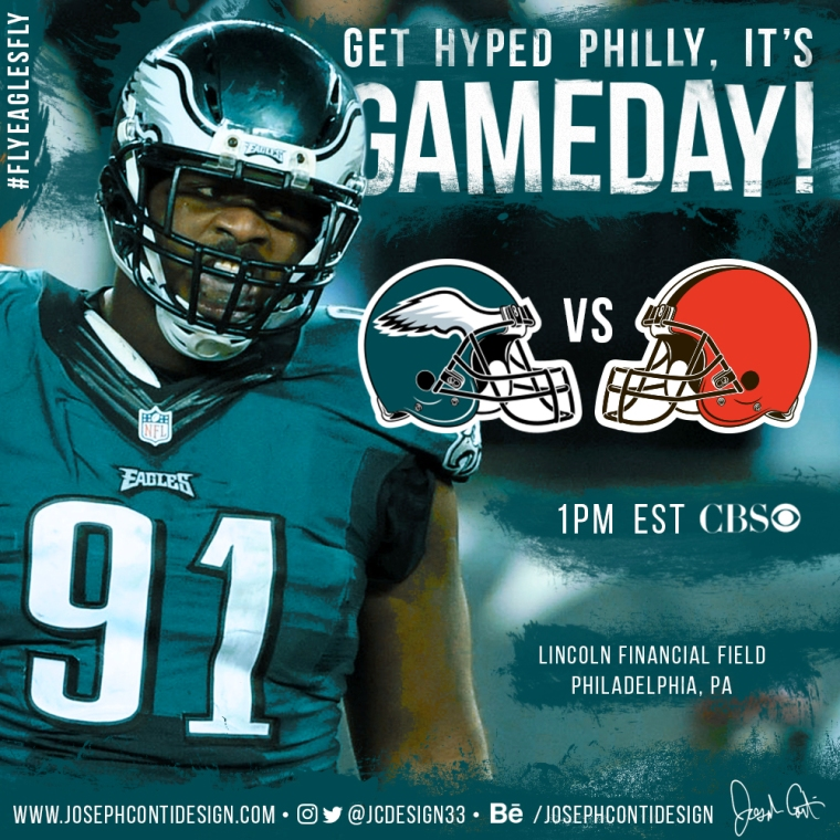 Philadelphia Eagles 2016 Gameday Graphic – Game 1 vs Browns