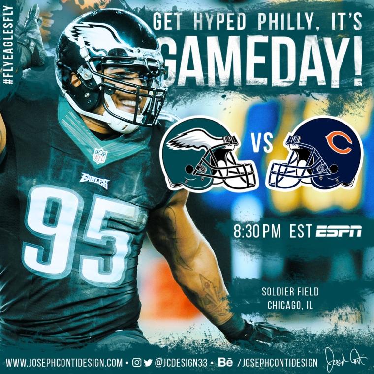 Philadelphia Eagles 2016 Gameday Graphic – Game 2 vs Bears