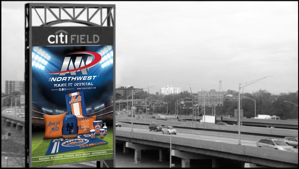 Citi Field Expressway Marquee Day