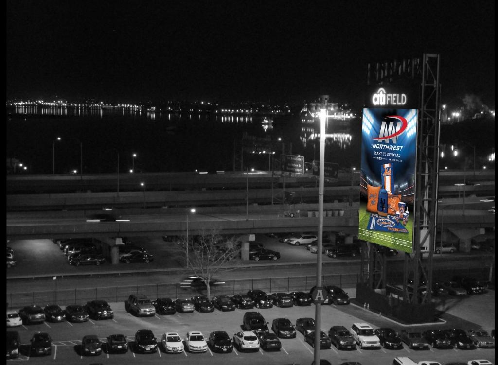 Citi Field Expressway Marquee Night