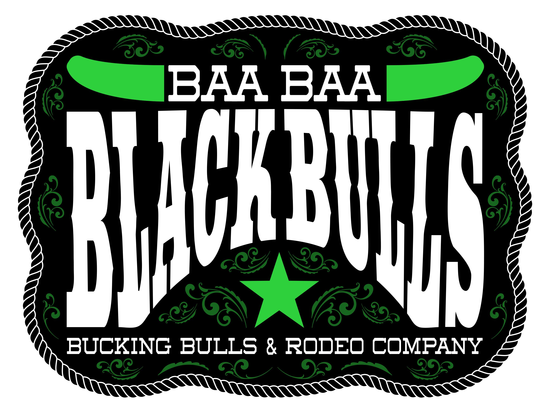 Baa Baa Black Bulls Logo Floor Print